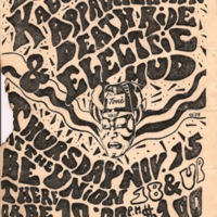 Rock Poster:  The Kabuki Shriners, Appalachian Death Ride, Electric Mud
