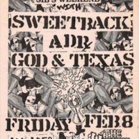 Rock Poster:  Sweetback, Appalachian Death Ride, God & Texas