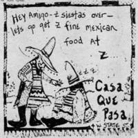 Casa Que Pasa ad From Early Morning Clown, Feb. 1983.jpg